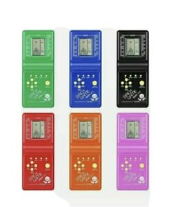 Kids Electronic Brick Game Handheld Game Machine LCD Educational Toy UP
