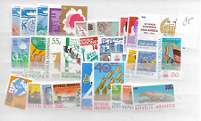 1985 MNH Indonesia year complete according to Michel system