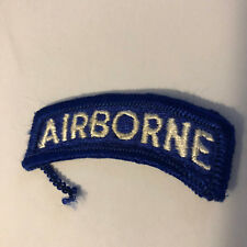 MILITARY- U.S. ARMY AIRBORNE MILITARY TAB