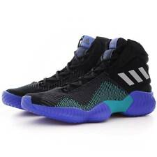 Adidas Pro Bounce Core Basketball Shoes Sneaker AH2657 Black Blue Mens Size 10