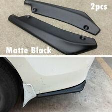 2PC Bumper Spoiler Rear Lip Angle Splitter Diffuser Protector Car Accessories