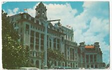 Singapore; Collyer Quay, (GPO) PPC, 1950's Maritime Mail Cachet