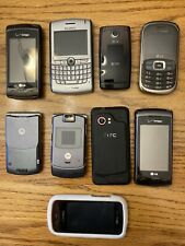 Lot of 9 Used Cell Phones