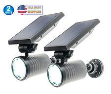 New listing Solar Motion Sensor Light Security Spotlight Outdoor Waterproof 360° Rotatable