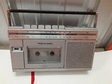 Vintage  REALISTIC Cassette Recorder Portable Cassette AM/FM Radio 14-1012A