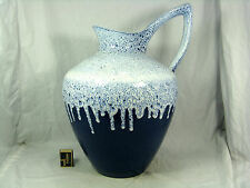 Well shaped 70´s design ES Keramik Fat Lava vase Emons & Söhne  888 / 40
