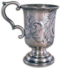 Silver Cup with Handle - Tifft & Whiting - 1840-1853