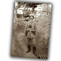 German noncommissioned officer of the assault unit Photo WW1 4x6 T
