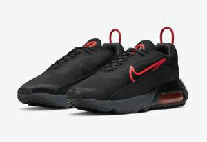 Nike Air Max 2090 Black Orange CT1803-002 Men's Shoe Size 12