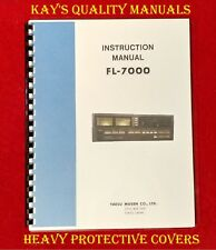 Yaesu FL-7000 Instruction Manual (3 Button) on 32 Lb PAPER* *C-MY OTHER MANUALS*
