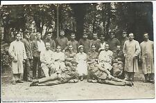 Soldatenkarte Feldpost Sanitäter,Lazarett,Gruppenbild,Patienten, Pflegepersonal