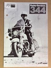 Harley-Davidson 344 (WNF 6478) - Robert Blake / Motorrad / Motor Cycle