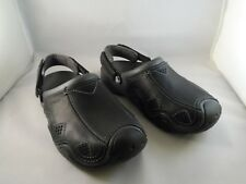 Crocs Mens Swiftwater Leather Clog Size 8