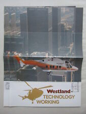 1983 DEPLIANT WESTLAND CIVIL MILITARY HELICOPTER WESTLAND 30 AIRSPUR LOS ANGELES