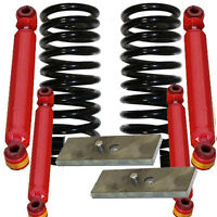 "D 1963-1972 CHEVY C10 COIL 3"" DROP SPRINGS/1"" BLOCK 251130 1300LL/2000LL"