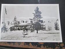 AK Norwegen ARVIDSJAUR  Skihütte lt. Foto um 1960 neu