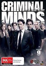 Criminal Minds : Season 9 (DVD, 2014, 5-Disc Set) Region 4