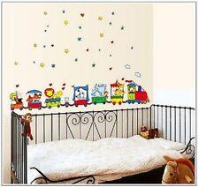 Tren DIBUJOS ANIMADOS INFANTIL Adhesivos de pared habitación TC 6047