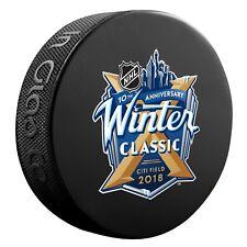 2018 NHL Winter Classic Hockey Collectors Puck New York Rangers Buffalo Sabres