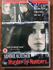 Sandra Bullcok Ryan Gosling MURDER BY NUMBERS ~ 2002 Mystery Thriller Rental DVD