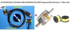 X3 INTERFACE LPG/CNG USB STARGAS POLARIS Pegasus/Elios,Perseus + Filters Set