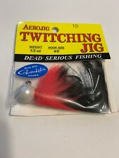 AeroJig Twitching Jig 1/2oz Weight 4/0 Hook - Nightmare Color