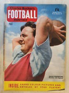 FOOTBALL MONTHLY MAGAZINE BRIAN PILKINGTON - JULY 1959