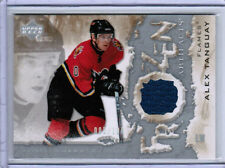 07/08 UD ARTIFACTS ALEX TANGUAY FROZEN JERSEY SILVER 005/100 CALGARY FLAMES