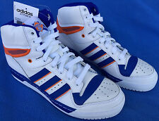Adidas Attitude HI NY Knicks D73897 Retro Ewing Basketball Shoes Men's 9 NBA new