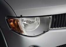 CLEAR HEADLAMP PROTECTOR TRITON ML MN MITSUBISHI GENUINE NEW 2009-2015 COVER
