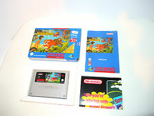 JUNGLE BOOK / JUNGLE BOEK complete in box with manual snes super nintendo game