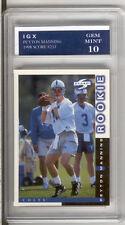 Peyton MANNING ROOKIE CARD 1998 Score GEM MINT 10 RC $$ Football Broncos RARE!