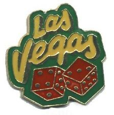 Hat Lapel Push Pin Tie Tac City Las Vegas Dice NEW