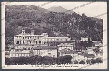 BERGAMO SAN PELLEGRINO TERME 31 CASINO KURSAAL Cartolina viaggiata 1929