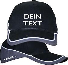 Bedruckte Basecap Baseball Cap Kappe Mütze Text nach Wunsch Wunschtext + Name 8