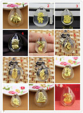 Hot Sale Gift 24K Yellow Gold &Crystal Pendant Man Woman's Lucky Pendant-1pcs
