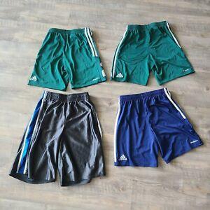 Adidas Tek Gear Boys Lot of 4 Athletic Soccer Basketball Pull On Shorts Size M