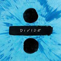 ED SHEERAN DIVIDE ÷ AUDIO CD MUSIC ALBUM STANDARD EDITION BRAND NEW SEALED 2017