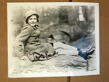 Lauren Bacall glossy press photo with authentic hand-signed Autograph . COA