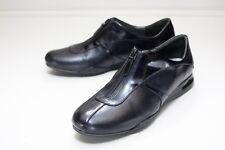 Cole Haan Size 8.5 Black Zip Flats Women's