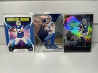 2020 Rookie Jake Fromm Mosaic Base - Illusions Base - 3 Card lot