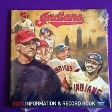 CLEVELAND INDIANS 2013 CD INFORMATION AND RECORD BOOK • SCHEDULE • SEALED!!!