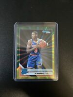 RJ BARRETT 2019-2020 DONRUSS GREEN YELLOW LASER HOLO SP RATED ROOKIE RC #203 🔥