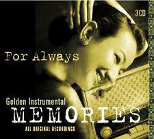 Golden Instrumental Memories 3CD LIBERACE, ACKER BILK,MANTOVANI,PERCY FAITH Etc