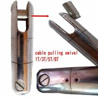 Cable Pulling Swivel 1Ton Wire Line Rope 2200LBS  BALL BEARING SWIVEL