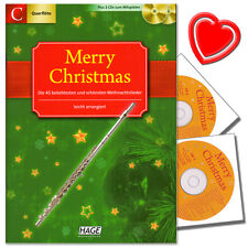 Edition Hage Merry Christmas C-instrumente - mit 2 CDs