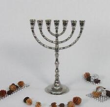Menora Silber Kerzenleuchter Kerzenständer Davidleuchter Messing Antik Barock