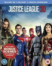 Justice League 3d Blu-ray 2017 Marvel