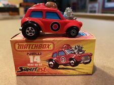 Vintage Matchbox Lesney #14e Mini Ha-Ha Superfast 1975 – MIB