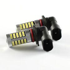 2x 9005 HB3 9145 H10 6000K 60W LED Cree Projector Fog Driving Light Bulb White